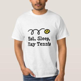 Tshirt do tênis do divertimento camiseta