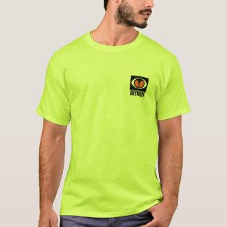 TShirt do VERDE da SEGURANÇA de SKYWARN Camiseta