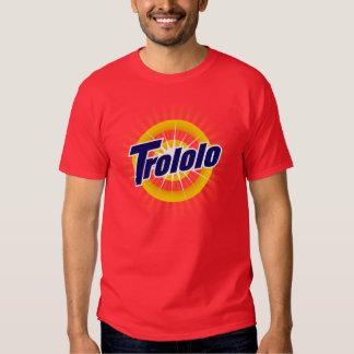 Tshirt do vermelho de Trololo