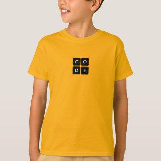 Tshirt dos miúdos de Code.org Camiseta