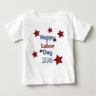 Tshirt feliz do Dia do Trabalhador Camiseta Para Bebê