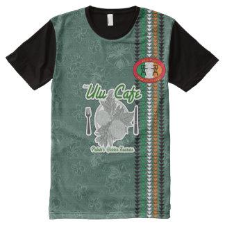 Tshirt havaiano do estilo do orgulho irlandês camisetas com impressão frontal completa