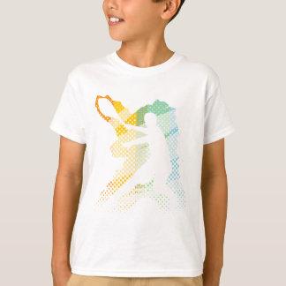 Tshirt leve do tênis para homens, mulheres e camiseta