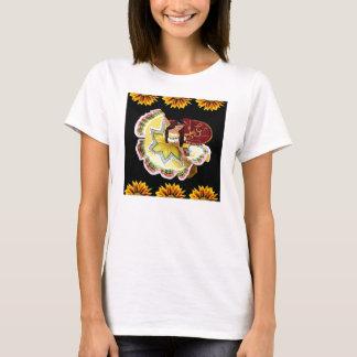 TShirt mexicano do dançarino Camiseta