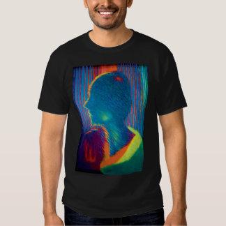 Tshirt original colorido das belas artes