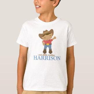tshirt pequeno do vaqueiro