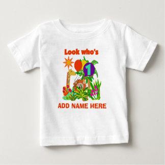 Tshirt personalizado do primeiro aniversario do