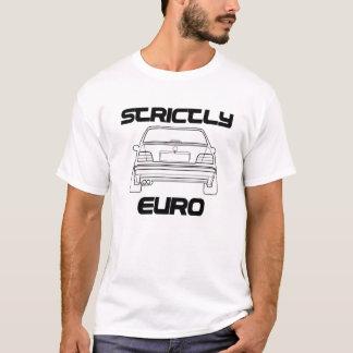 Tshirt restrita euro- do branco de BMW E36 Camiseta