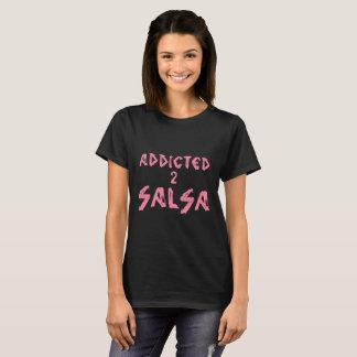 Tshirt VICIADO da SALSA 2 para algum salsera ou Camiseta