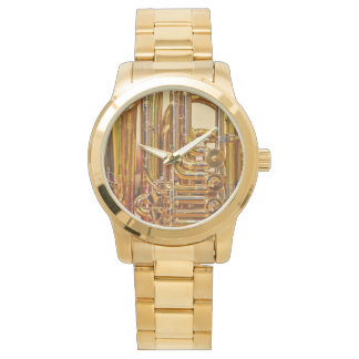 Tuba: Relógio desproporcionado unisex do bracelete