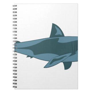 Tubarão Caderno Espiral