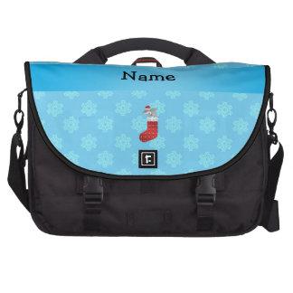 Tubarão conhecido personalizado que armazena floco bolsa para notebook