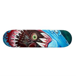 Tubarão CONTRA o skate do zombi