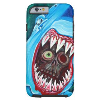 Tubarão contra o zombi capa tough para iPhone 6