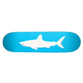 Tubarão da natação shape de skate 18,4cm