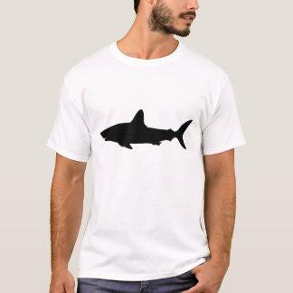 Tubarão da natação tshirts