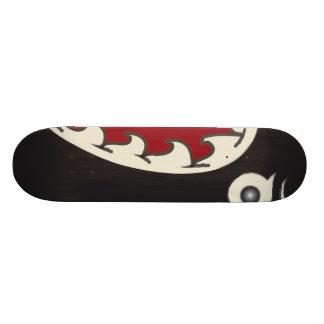 Tubarão da terra shape de skate 18,4cm
