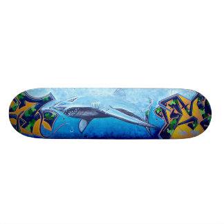 Tubarão de Chromie a Dinamarca Shape De Skate 19,7cm