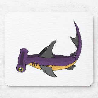 Tubarão de Hammerhead roxo