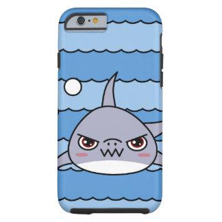 Tubarão de Kawaii Capa Tough Para iPhone 6