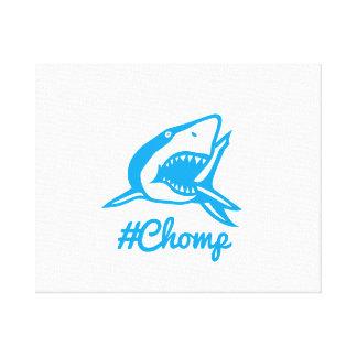 tubarão do #chomp das canvas