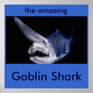 Tubarão do diabrete pôster