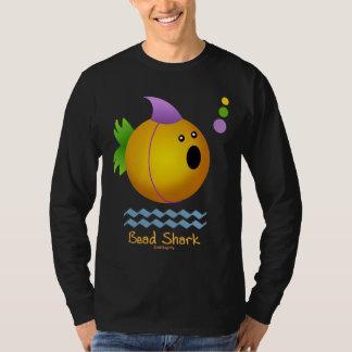 Tubarão do grânulo do carnaval (ouro) t-shirt