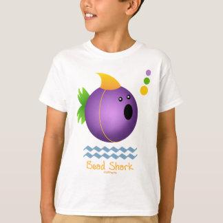 Tubarão do grânulo do carnaval (roxo) camiseta