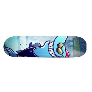 Tubarão do nadador skate personalizado