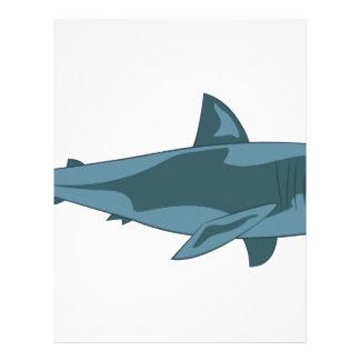 Tubarão Papel Timbrado