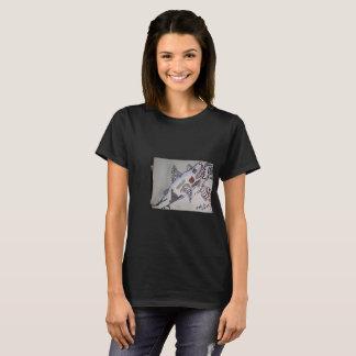 Tubarão/piranha Camiseta