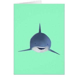 Tubarão shark cartões