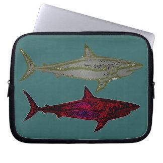 Tubarões Capas De Computadores Notebooks