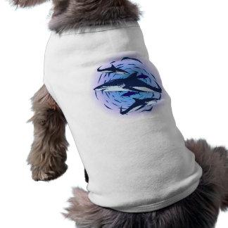 Tubarões sharks camisas para cães
