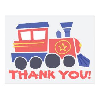 Tudo a bordo do obrigado você cartão