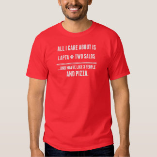 Tudo cuidado de I é aproximadamente Lapta dois T-shirt