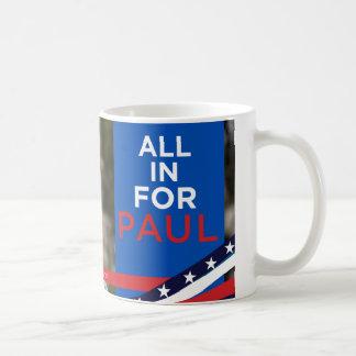 Tudo para Paul - caneca da cara