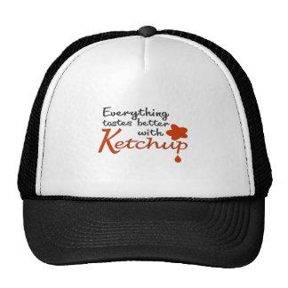 Tudo prova melhor com ketchup boné
