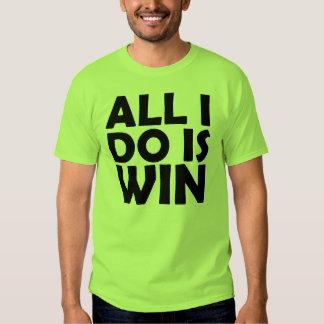 Tudo que eu faço é camisa da vitória camiseta