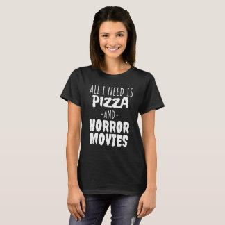 Tudo que eu preciso é pizza e camisa dos filmes de