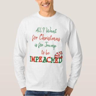 Tudo que eu quero para a camisa acusada trunfo do