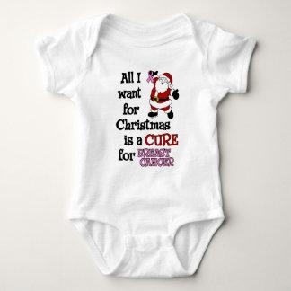 Tudo que eu quero para o cancro da mama do Natal… Body Para Bebê