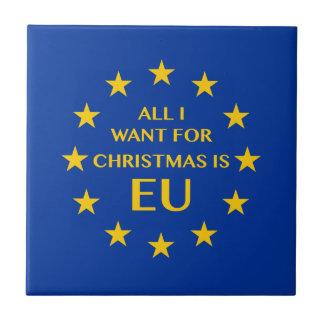 Tudo que eu quero para o Natal é UE