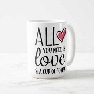 Tudo que você precisa é amor & uma caneca das