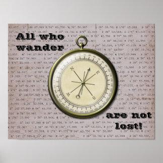 Tudo que Wander não é perdido-- Impressão da arte