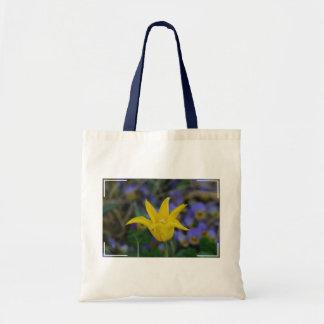 Tulipa amarela perfeita bolsa