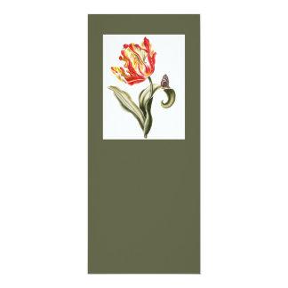 Tulipa do primavera floral convites personalizados