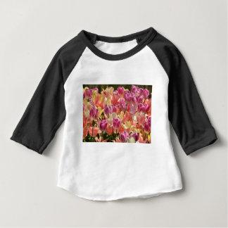 Tulipas #2 camiseta para bebê
