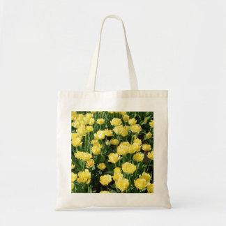 Tulipas amarelas bolsas