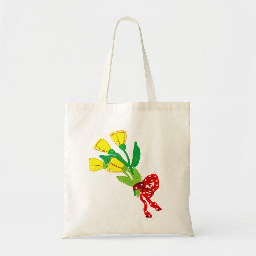 tulipas amarelas bolsa